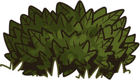 Bushes graphic